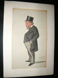Vanity Fair Print: 1879 Thomas Chenerey, Newspaperman